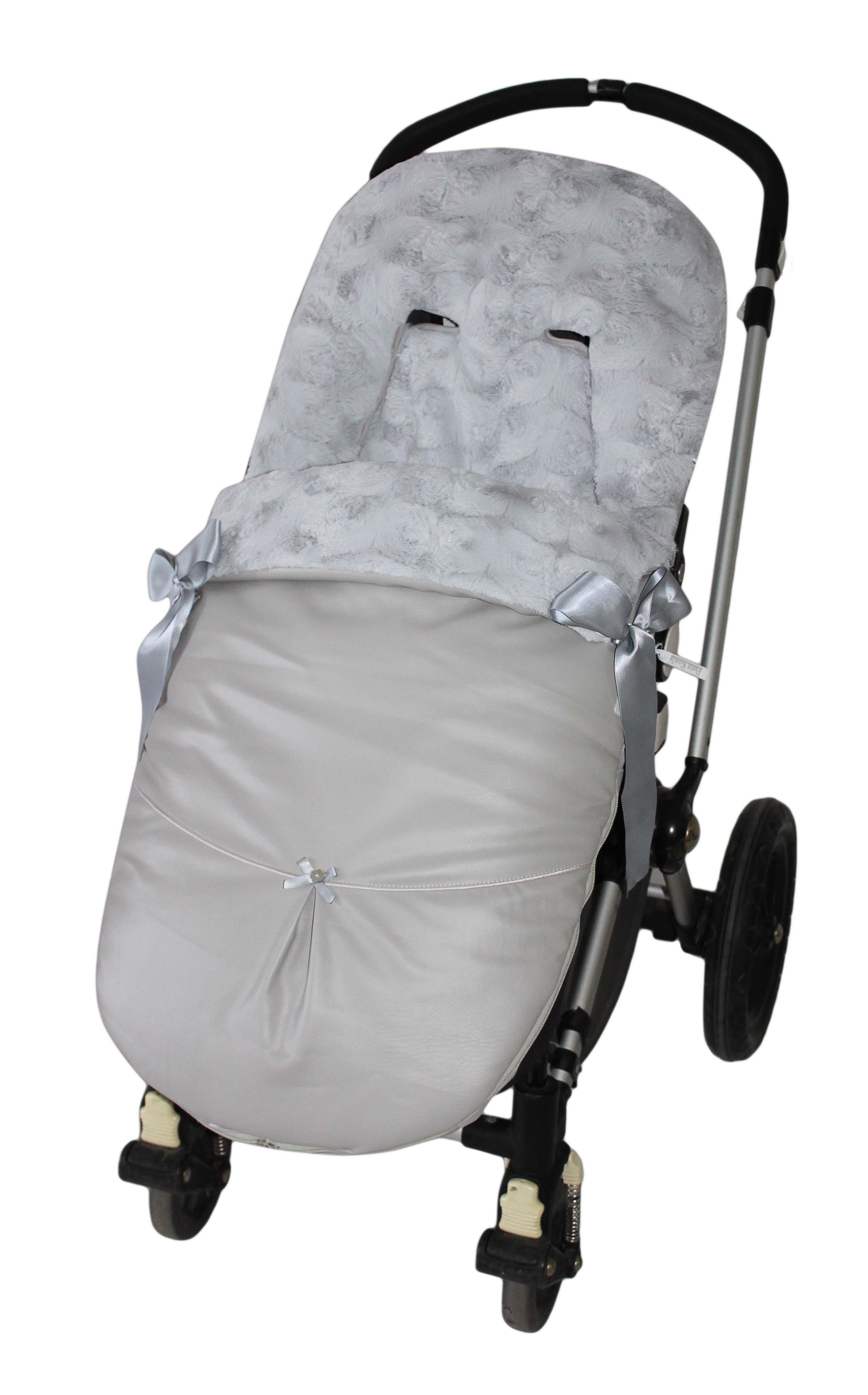 Saco bugaboo dakota gris pelo roseton gris saco bugaboo invierno dakota gri 116 16 sacos - Sacos silla bebe invierno ...