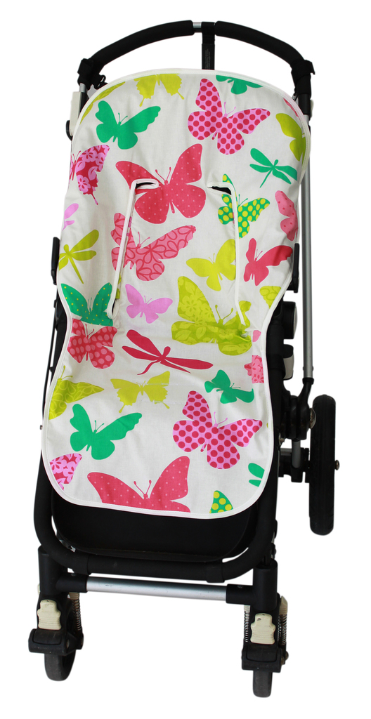 funda universal verano modelo butterfly colores transpirable