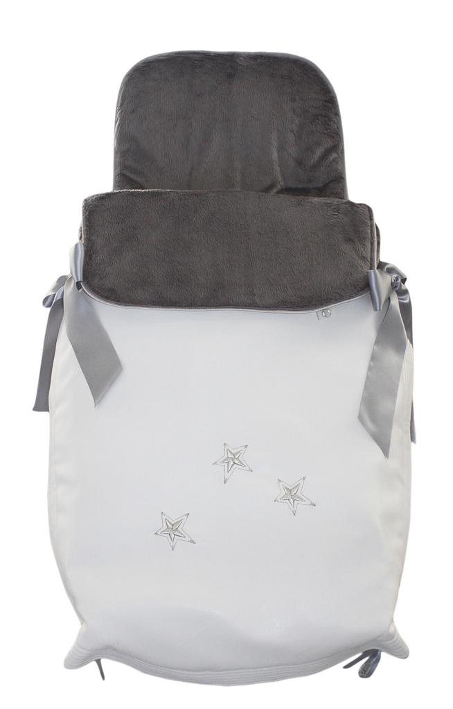 Saco capazo cubre normal invierno modelo estrella plata sacocapazo cubre normalinviernoe 96 - Sacos silla bebe invierno ...