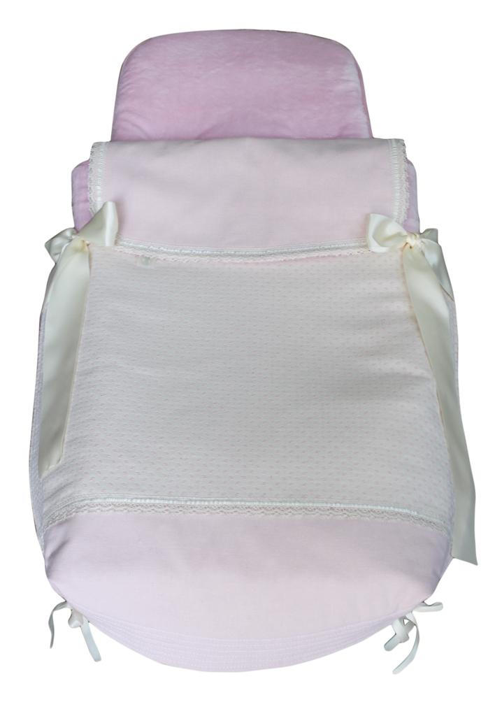 Saco capazo cubre normal invierno modelo girasol rosa sacocapazo cubre normalinviernog 91 98 - Sacos silla bebe invierno ...