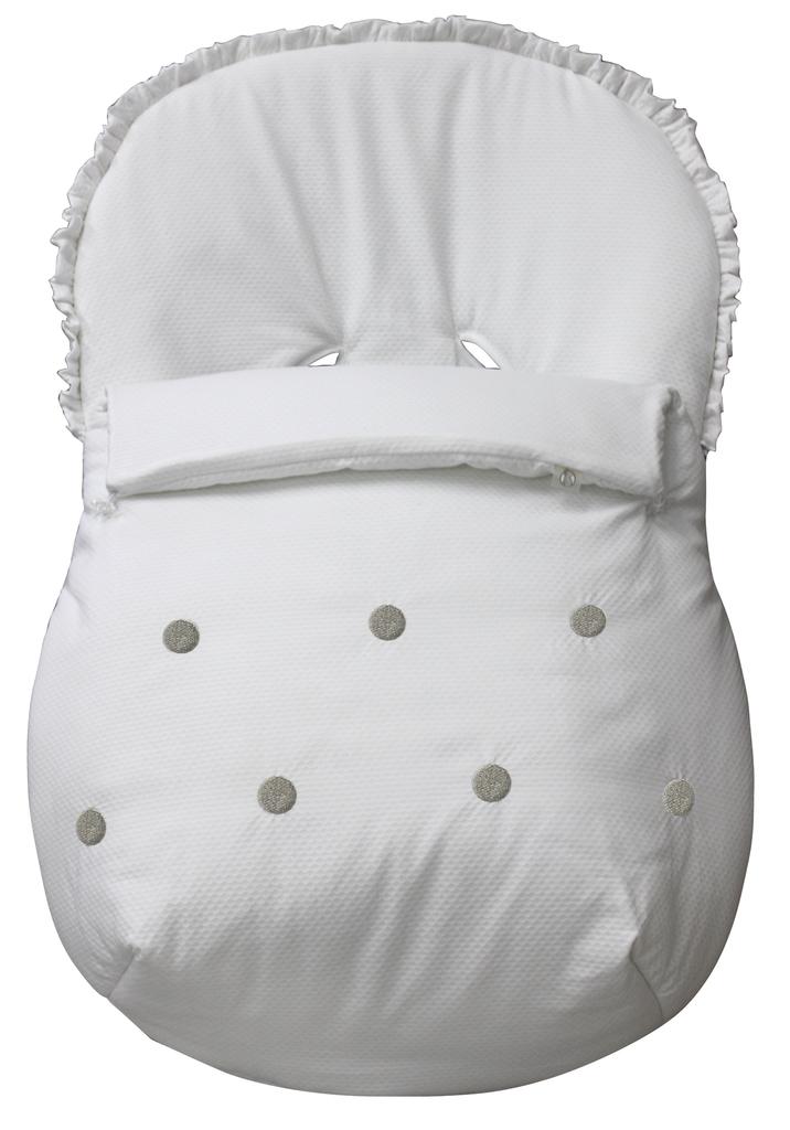 Saco matrix invierno modelo tossa blanco sacomatrixinviernotossa 102 06 sacos silla paseo - Sacos silla bebe invierno ...