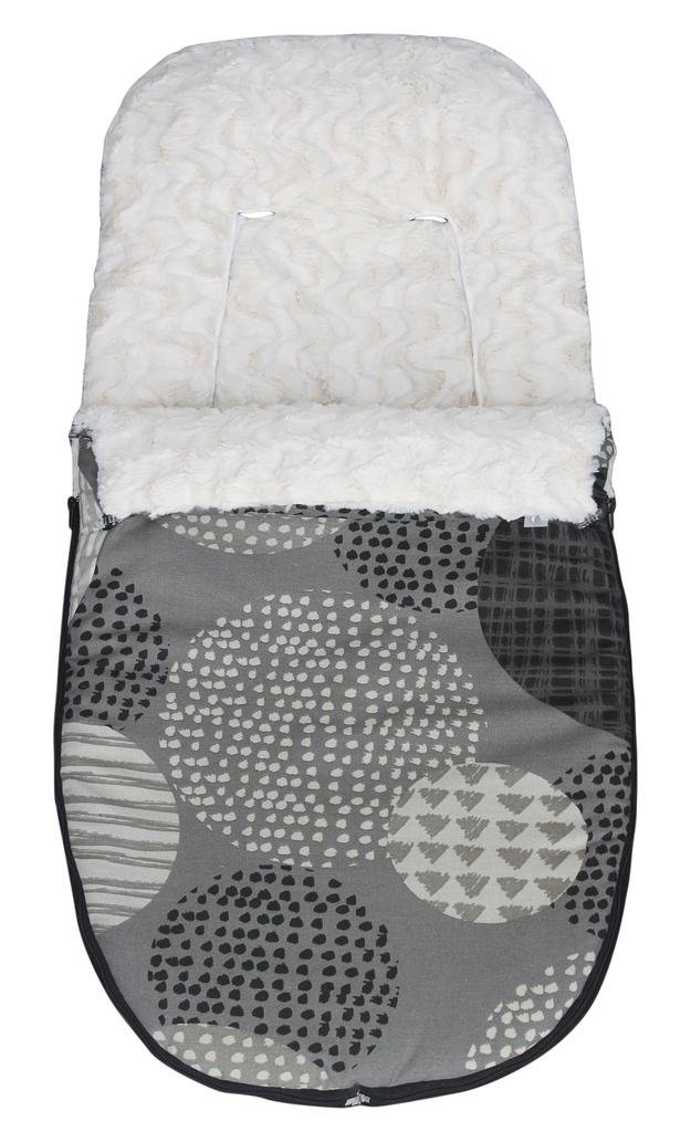 saco silla universal invierno modelo pipas gris sacosilla