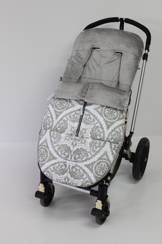 Saco universal invierno modelo california color gris california 110 00 sacos silla paseo - Sacos silla bebe invierno ...