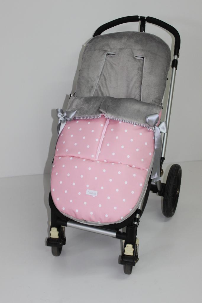 Saco universal invierno modelo nina color rosa nina 110 00 sacos silla paseo fundas - Sacos silla bebe invierno ...